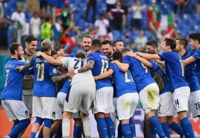 欧洲杯意大利加时胜奥地利进八强,意大利想要连续零封对手有些难了!