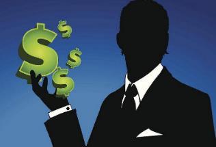 做生意有时要靠运气,碰到了就赚钱